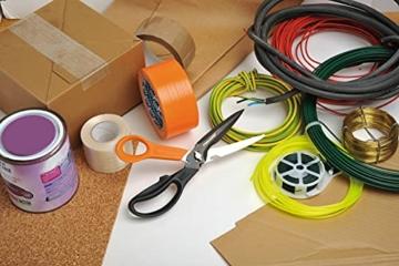 fiskars-mehrzweckschere-mit-trennbaren-klingen-inklusive-schutzhuelle-mit-scheren-schaerfer-laenge-23-cm-titaniumbeschichtung-rostfreier-stahl-klinge-kunststoff-griffe-schwarz-orange-cuts-more