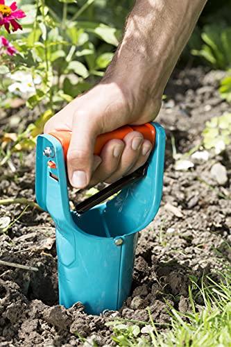 gardena-blumenzwiebelpflanzer-ideales-gartenzubehoer-zum-setzen-von-blumenzwiebeln-mit-ausloeseautomatik-und-tiefenskala-pflanzhilfe-aus-qualitaetsstahl-mit-duroplast-beschichtung-3412-20-2