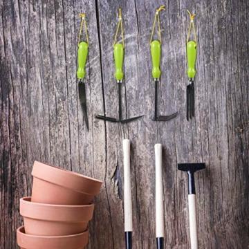 relaxdays-gartenwerkzeug-set-4-teilig-blumenkelle-kleinrechen-doppelhacke-blumengabel-gartengeraete-set-eisen-gruen-2