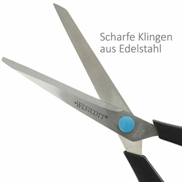 westcott-e-30283-00-easy-grip-softgrip-schere-rostfreie-klingen-blau-schwarzer-kunststoff-griff-201-cm-8-zoll-1-stueck-4