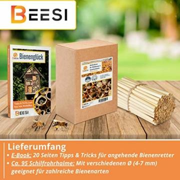 beesi-95x-nisthuelsen-14-cm-lang-fuer-insektenhotel-aus-schilf-i-durchmesser-4-7-mm-inkl-e-book-i-fuer-bienenhotel-nisthilfe-i-nistroehren-fuer-wildbienen-4