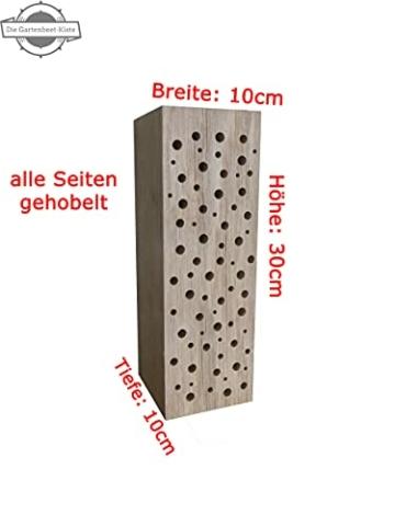 die-gartenbeet-kiste-bienenhotel-stamm-insektenhotel-wildbienen-eiche-massivholz-hartholz-wildbienenhotel-nisthilfe-bienen-30-cm-3
