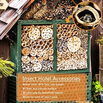 ekkong-300-stk-nisthuelsen-fuer-insektenhotel-14-5-cm-lang-durchmesser-3-5-mm-nisthuelsen-fuer-wildbienen-insektenhotel-fuellmaterial-weizenhalme-fuellung-fuer-wildbienenhotel-bienenhotel-nisthilf